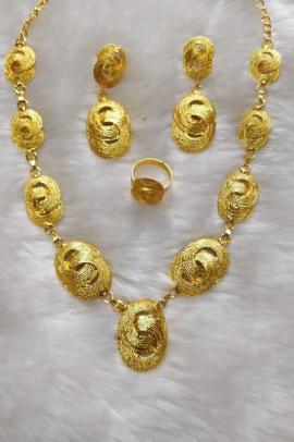 Gold plated set GZNK12